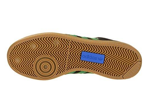 Adidas Skateboarding Mens Samba Adv Core Nero / Verde / Gomma 4