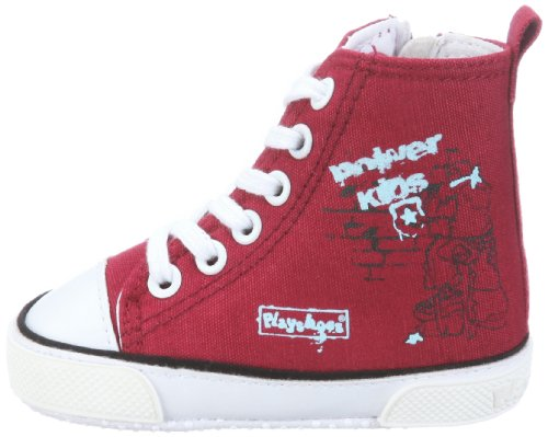 Playshoes - Zapatillas deportivas con cordones, Rojo (Rot (original 900)), 18 (6 a 12 meses) Rojo (Rot (original 900))
