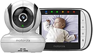 Motorola Digital Video Baby Monitor - Mbp36S, White