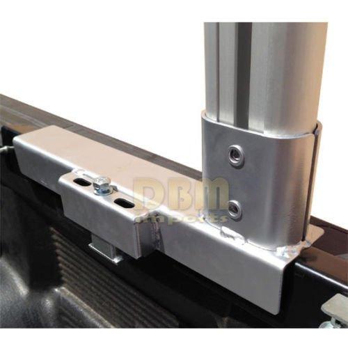 Aluminum Truck Rack Adjustable Universal Pick up Truck Ladder Lumber Contractor by Generic