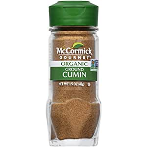McCormick Gourmet Organic Cumin Ground, 1.5 oz