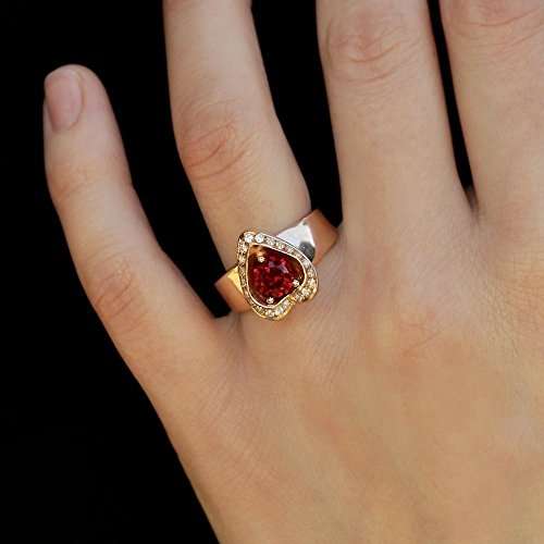 vintage ruby engagement rings - 6
