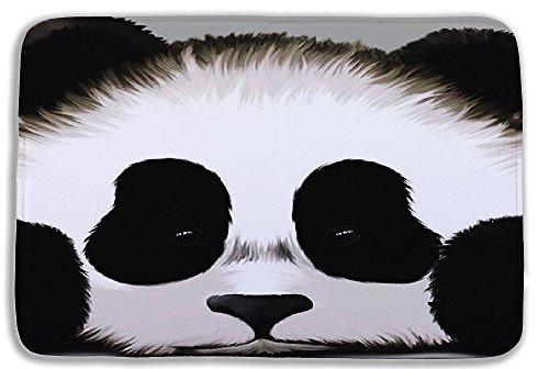 Izielad Animal Panda Bathroom Mat Washable Bath Rug For Floor Bathroom Bedroom Living Room 15.7x23.6 INCH 40x60CM by Izielad