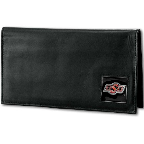 NCAA Oklahoma State Cowboys Deluxe Leather Checkbook -