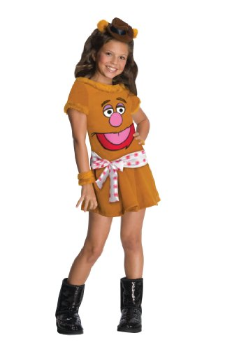 The Muppets Fozzie The Bear Girls Costume - -
