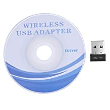VGEBY 150M USB WiFi Adapter Wireless Network Card Receiver Repeater Support Windows 98SE/2000/XP/7/8/Vista and MAC