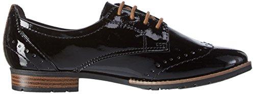 Softline 23260, Zapatos de Vestir para Mujer Negro (BLACK PATENT 018)