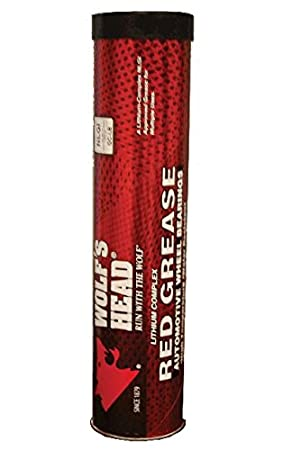 Wolf's Head Red Grease - 10/14oz tubes Amalie Oil Company
