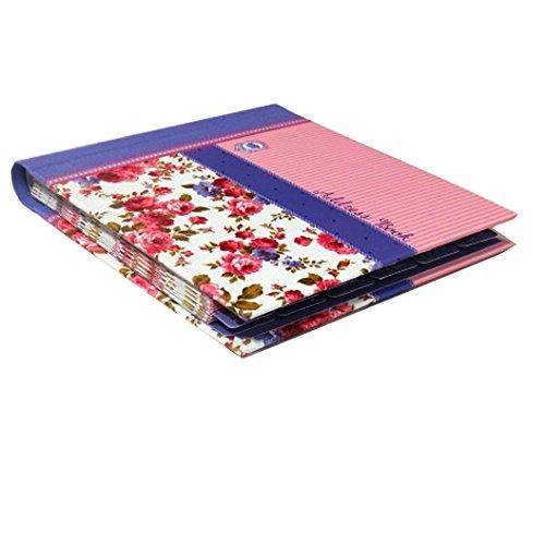 Decorative A-Z Address Book - Victoriana Sweet Posy