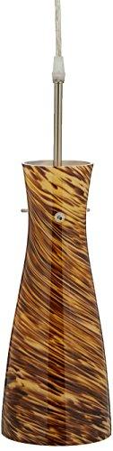 Amber Glass Pendant - Lite Source LS-19197AMB Mona Pendant Lite, Amber Glass Shade