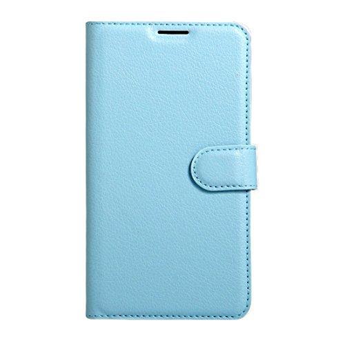 Samsung Galaxy C9 Pro / C900 caso Litchi textura Horizontal Flip caja de cuero con hebilla magnética y titular y ranuras para tarjetas y cartera Para Samsung Galaxy C9 Pro / C900 caso by diebelleu ( C Blue