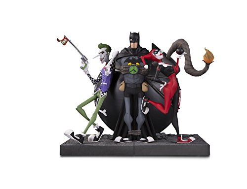 DC Collectibles The Joker & Harley Quinn Bookend Set