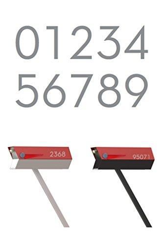 address numbers modern - 4