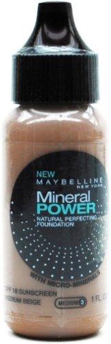 Maybelline Mineral Power Liquid Foundation - Medium Beige