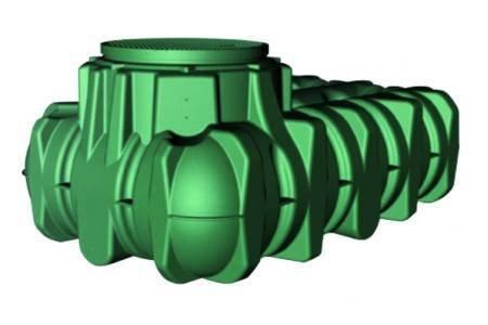 Graf M256755-Deposito acqua seppelliti lilo graf 3000 l