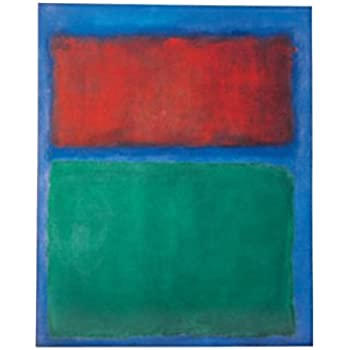this item posters mark rothko poster art print earth and green 32 x 24 inches