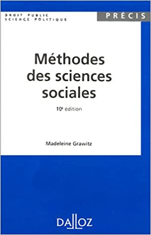 methodes des sciences sociales madeleine grawitz