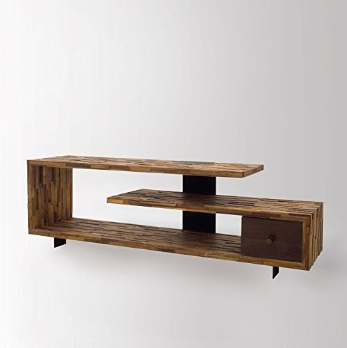 Rustic Solid Reclaimed Wooden Modern Antique Handmade TV Console Table (Factory Table Console)