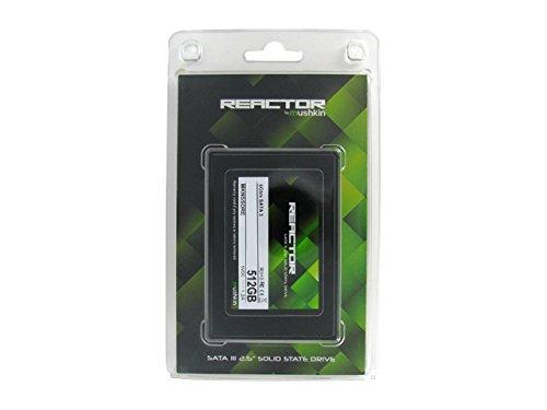 Mushkin REACTOR 512GB Internal Solid State Drive (SSD) - 2.5 Inch - SATA III - 6Gb/s - MLC - 7mm - MKNSSDRE512GB by Mushkin (Image #2)
