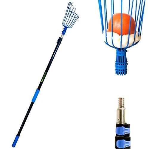 eversprout-13-foot-fruit-picker-patent-pending-twist-on-basket-light-weight-high-grade-aluminum-tele