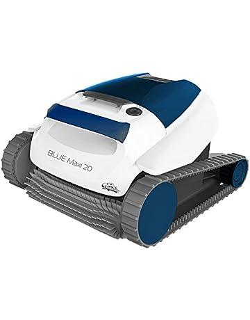 Dolphin BLUE Maxi 20 - Robot automático limpiafondos para piscinas (fondo y paredes) sistema