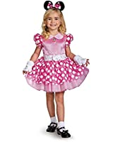 Girls Pink Minnie Mouse Classic Tutu Size 2T