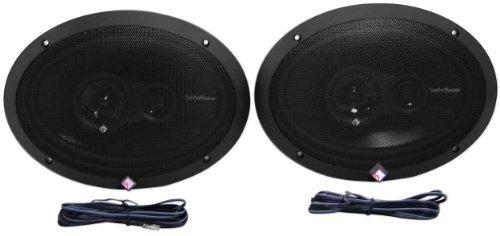 (Rockford Fosgate R1693 6x9 Inches Prime Series 3 Way 240 Watt (Pair) Full-range Car Speakers)