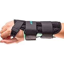 Aircast A2 Wrist Support Brace without Thumb Spica: Right Hand, Small