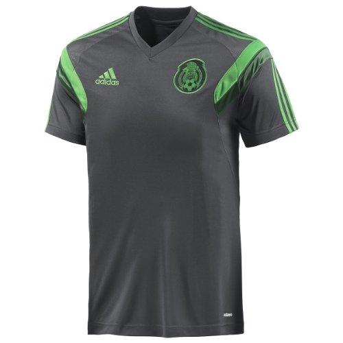 ADIDAS Mexico Training Jersey [DSHALE/VIVGRN] (S)