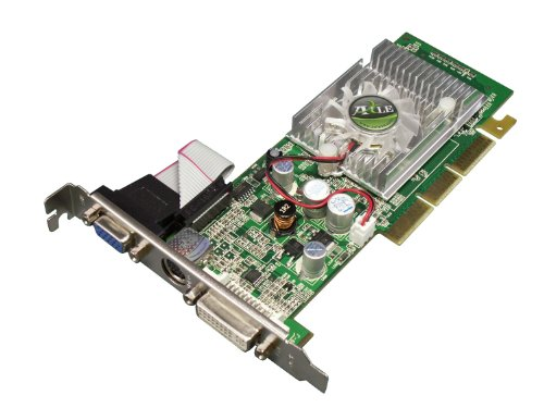 AXLE nVidia GeForce 6200A 512 MB Grafikkarte (AGP, 512MB DDR2 Speicher, 64-bit 6200 A Windows 7 VGA, DVI, S-Video)