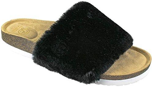 Sandalo Da Infradito Sandalo Flip Flop Nero Da Donna Della Lavanderia Cinese