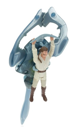 Star Wars Episode I GUNGAN SCOUT SUB Vehicle with Exclusive Obi Wan Kenobi Action Figure