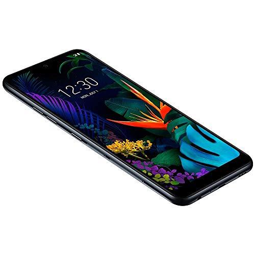 "LG K50 (32GB, 3GB) 6.26"" HD+ Display, MIL-STD 810G Certified, US + Global 4G LTE GSM Factory Unlocked LM-X520HM - International Model (Black, 32 GB) (Renewed)"