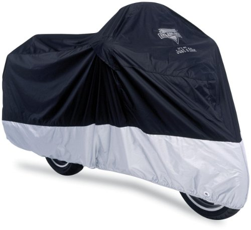 Nelson-Rigg Deluxe Motorcycle Cover, Weather Protection, UV, Air Vents, Heat Shield, Windshield Liner, Compression Bag, Grommets