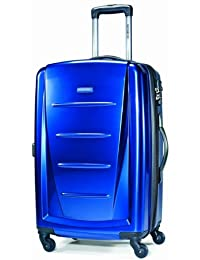 Samsonite Winfield 2 Spinner 28-Inch Expandable Wheeled Luggage, Metallic Blue