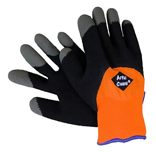 Arctic Guard - ARCTIC GUARD Version 2 Cold Weather Grip Glove (Orange, XX-Large)
