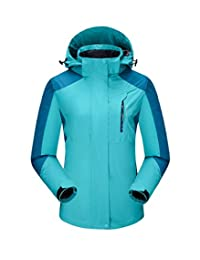 J-SUN-7 Couple Mountain Jacket Fleece Windproof Ski Jacket