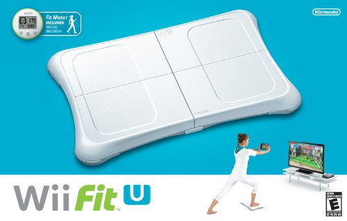 Nintendo Wii U Fit Balance Board and Meter (Wii U Games That Require Motion Plus)