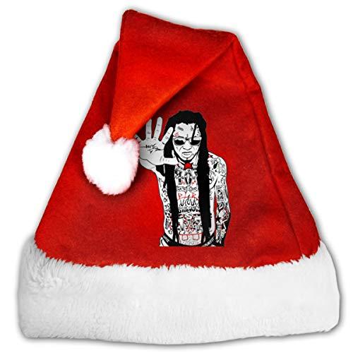 not Rodney L Robbins Lil Wayne Santa Claus Hat Merry Christmas (Christmas Wayne Merry Lil)
