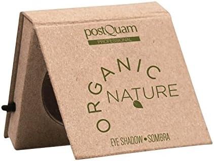 Sombra de ojos  orgánica PostQuam, color verde Green