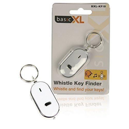 Porte-clés siffleur avec lampe led