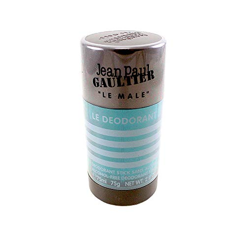 (Jean Paul Gaultier Le Male Alcohol Free Deodorant Stick for Men, 2.6 Ounce, Multicolor )