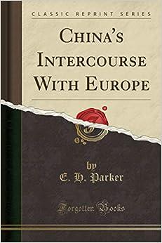 Descargar De Torrent China's Intercourse With Europe Patria PDF