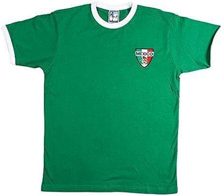 Old School Football - Camiseta de Fútbol de la Selección Mexicana