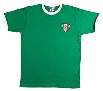 Old School Football - Camiseta de Fútbol de la Selección Mexicana - Extra Grande: Amazon.es: Deportes y aire libre