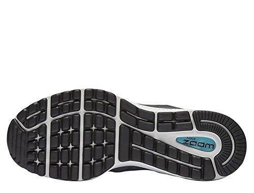 Nike Dame Wmns Luft Zoom Vomero 12 LaufSko Kølig Grå / Sort-mørkegrå-gletsjer Blå nYwfFY4
