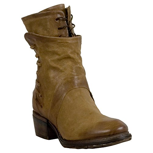 As98 Chet Womens Mid-calf Boot Tan