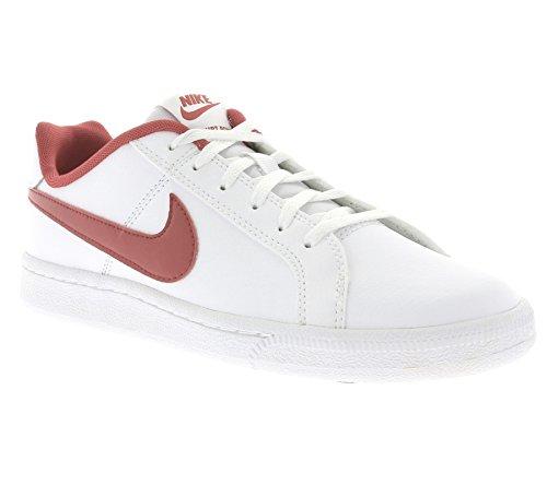 Nike White / University Red, Zapatillas de Deporte para Niños Blanco (White / University Red)