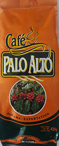 Panama Cafe Palo Alto 425 gr. (1 lb.) Regular Ground Panama's Finest Mountain Grown Single Estate Coffee from Boquete