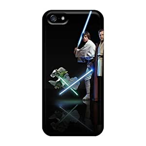 Apple Iphone 5/5s LHa23457gXyC Unique Design Nice Star Wars Jedis Series Anti-Scratch Cell-phone Hard Cover -KimberleyBoyes